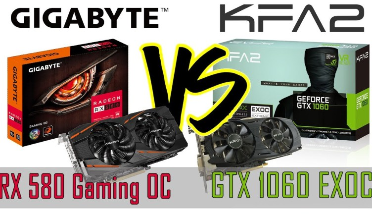 Radeon RX580 vs Nvidia GTX1060 Side by side Comparison | a Budget Gaming PC Built Graphics Card