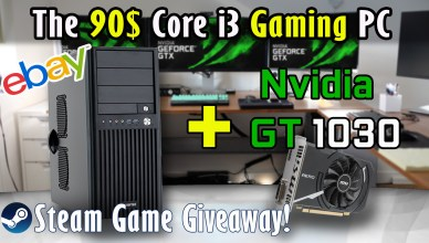 The 90$ Core i3 Gaming PC + Nvidia GT1030 Build Part 1