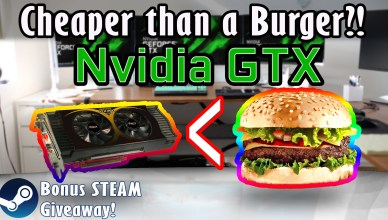 Nvidia GTX for 5$ A GTX GPU cheaper than a Burger