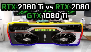 GeForce RTX 2080 Ti vs RTX 2080 vs GTX 1080 Ti - Gaming Benchmark Comparison