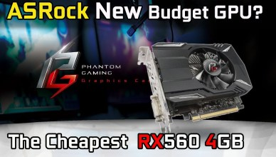 ASRock... The Cheapest RX560 4G you can buy! Gaming Benchmark Test