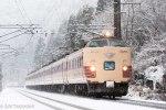 鉄道写真 雪の北陸本線