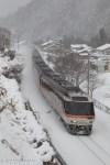 鉄道写真 雪景色が美しい 冬の高山本線