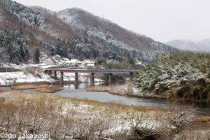 三江線雪景色撮影