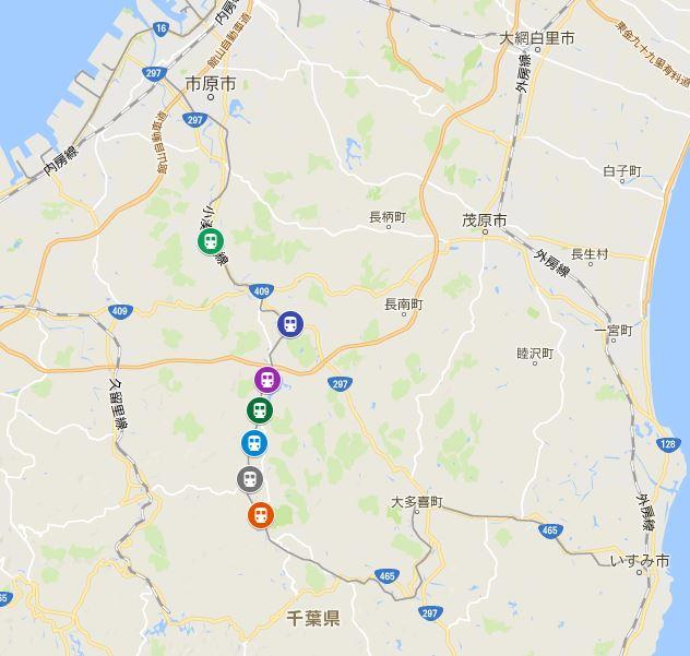 小湊鐵道桜満開予想