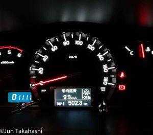 車の温度計