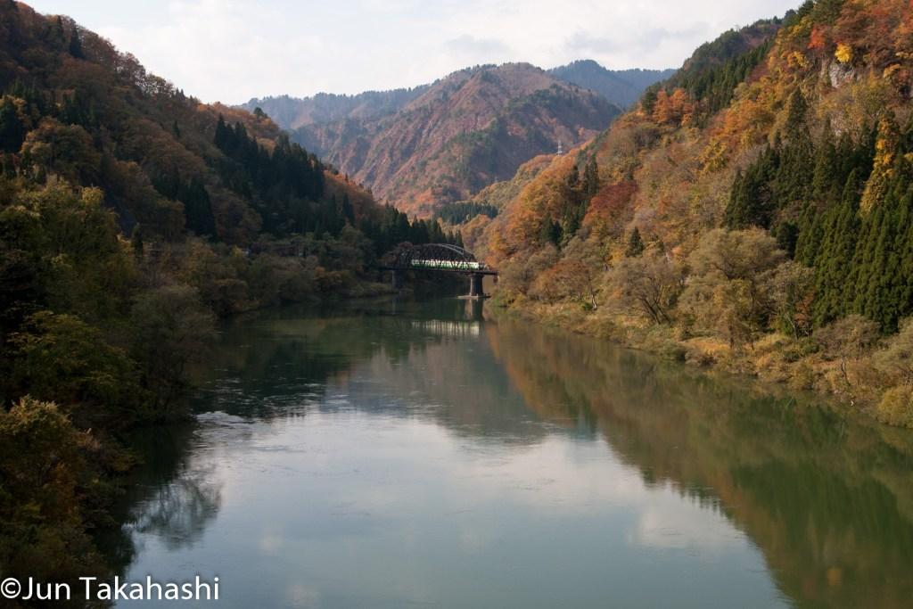 只見線絶景撮影地 第四只見川橋梁