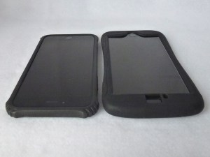 Survivor Core(Left) and Survivor Slim(Right): Front Top Side by Side View