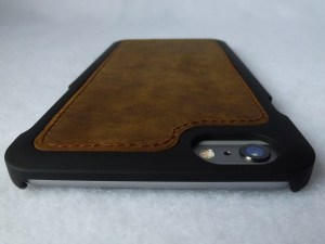 Doc Artisan Sport Leather Wallet Combo Case--Inner Phone Case Back Top View