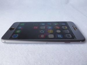 Aegis 3D Curved Tempered Glass Screen Protector: Front Right Side View