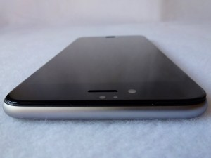 Imos Solid EX 3D Corning Gorilla Glass for iPhone 6+: Front Top View