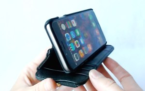 Doc Artisan Sport Wallet Case for iPhone 6- Stand View