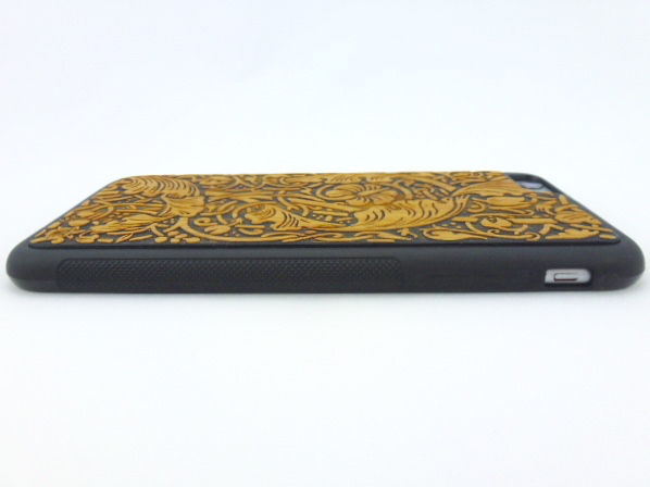 Twig Case in Vines Pattern for iPhone 6 Plus- Back Side View