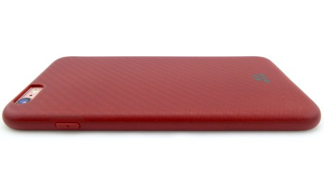 Evutec Karbon SI for iPhone 6s Plus in Brigandine- Back Side View