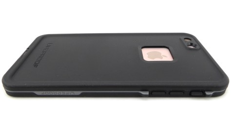 LifeProof FRE in Black for iPhone 6s Plus- Back View