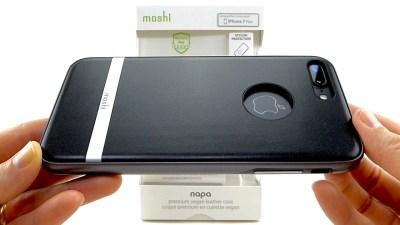 Moshi Napa for iPhone 7 Plus: Elegant Vegan Leather with Mil-Spec Protection!