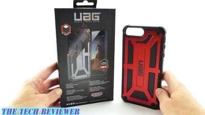 UAG Monarch in Crimson for iPhone 7 Plus: 2x Mil-Spec Drop Protection, Great Grip and a 10 Year Warranty!