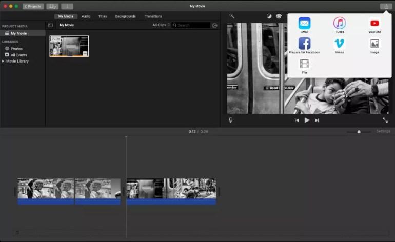 How to Export iMovie