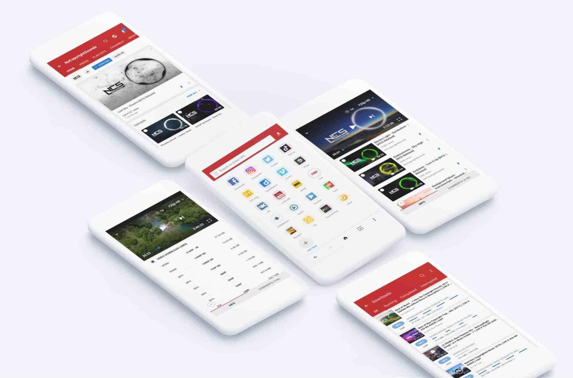 تطبيق أندرويد! حمل الفيديوهات والأغاني من يوتيوب، أنستغرام، فيسبوك والكثير من المواقع بكبسة زر وأكثر من صيغة.