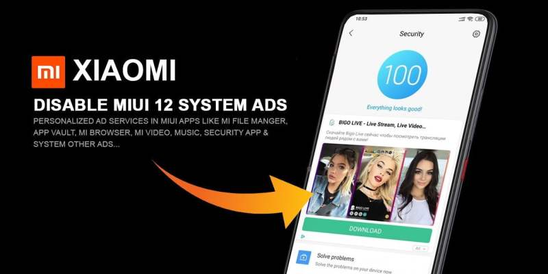 disable ads on xiaomi
