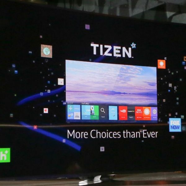 samsung android tv tizen