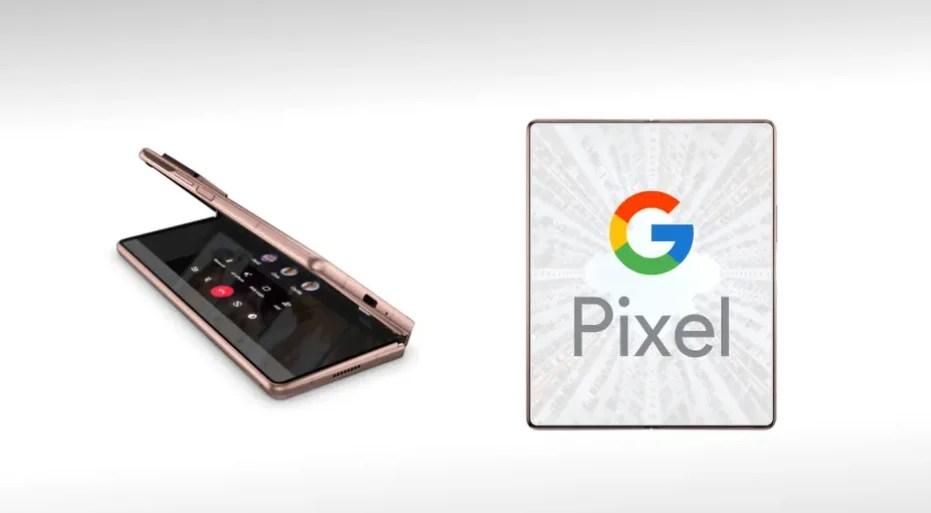 Foldable pixel