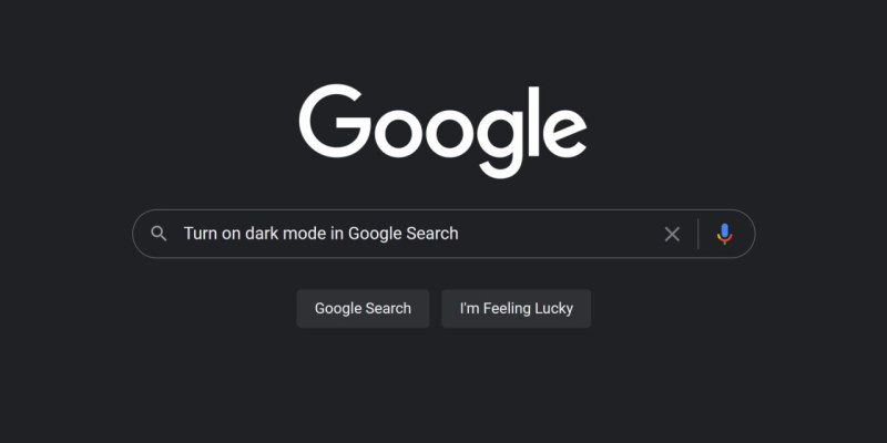 How to Turn on Dark Mode for Google Search