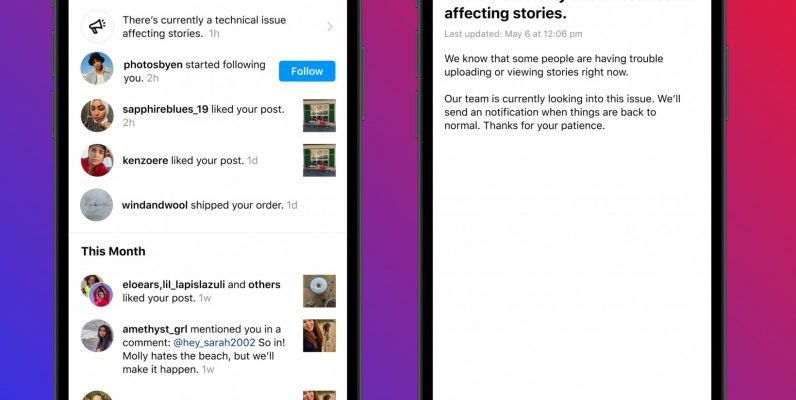 instagram outage