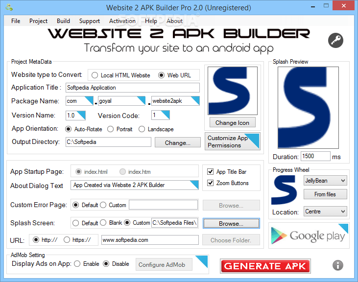Website 2 Apk Builder Pro 4 0 Tech Story