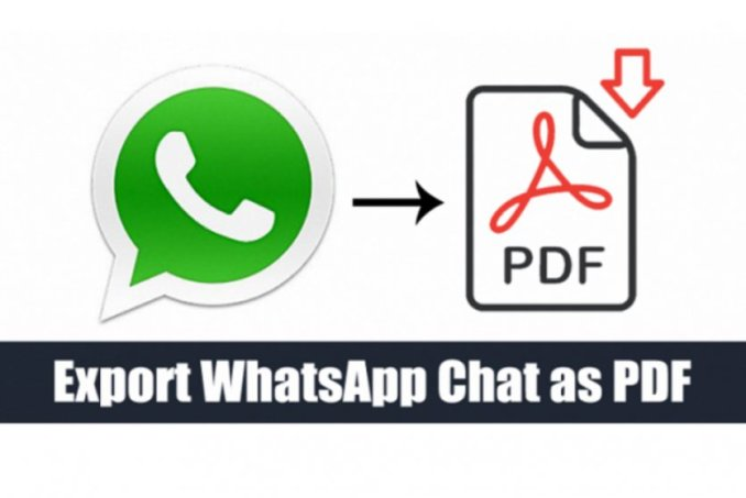 How to output PDF file from WhatsApp chat?