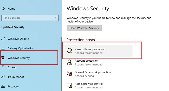 Learn how to enable ransomware in Windows 10