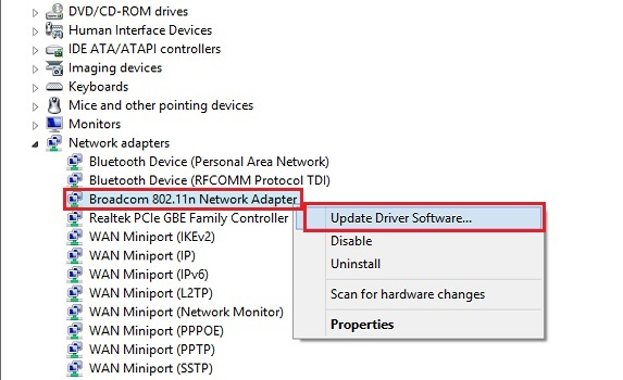 How to solve Windows problem was Unable to Connect to wifi Network