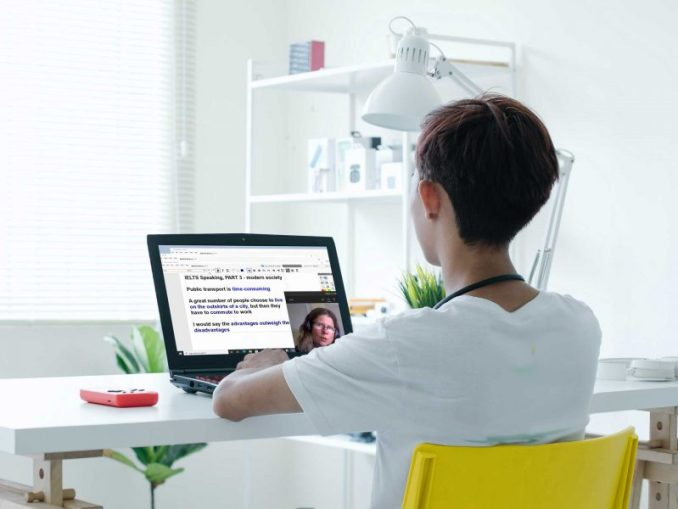 Unforgettable On-line English Class
