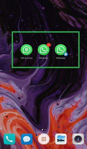 Multiple WhatsApp simultaneously on Android and iPhone