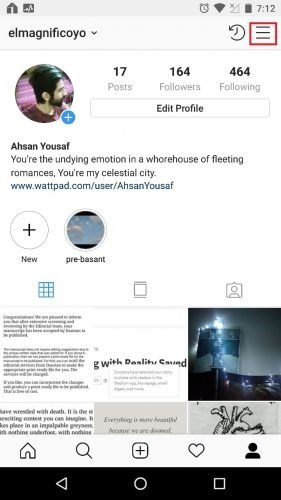 Step-by-step instruction on video chat on Instagram