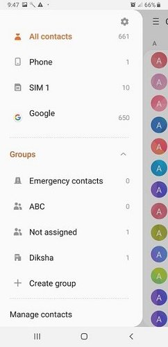 How to recover deleted audiences in Android?