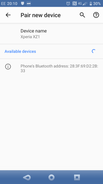 Use Bluetooth to share the Internet