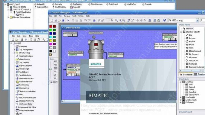 Siemens SIMATIC PCS