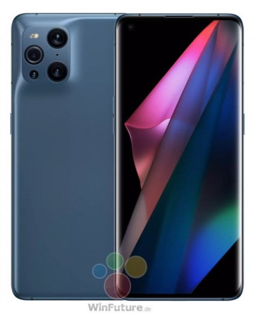 Specifications of Oppo Find X3