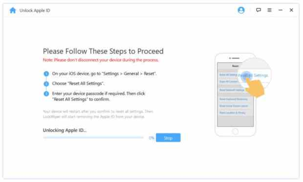 Delete Apple ID without password