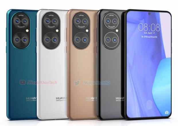 Pictures of Huawei P50