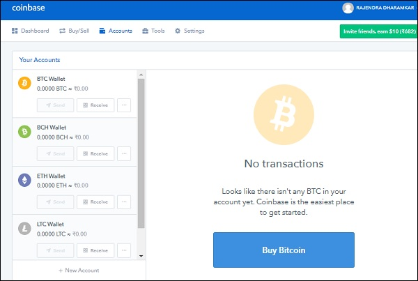 coinbase exchange wallet