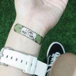 やる気を高めてくれる絆創膏タイプのシールタトゥー「MotivationalTattoo」