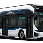 現代自動車が30分の充電で170km走行できる電気バス「Elec City」を発表