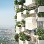 外観を木に覆われた高層ビルデザイン「Vertical Forest」
