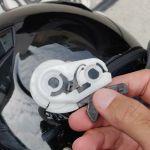 Araiのジェットヘルメットのシールドを交換してみた【難しい】