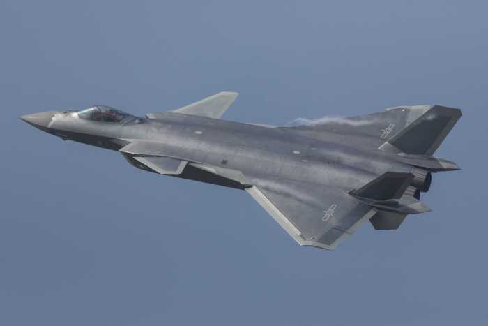 Best aircrafts in world J-20 stealth fighter