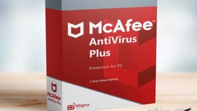 Photo of احصل على برنامج الحماية McAfee AntiVirus Plus لمدة 6 أشهر