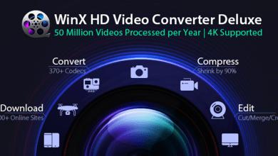 Photo of عرض على برنامج تحويل وتحميل الفيديو WinX HD Video Converter Deluxe