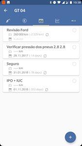spritmonitor.de - recorrências